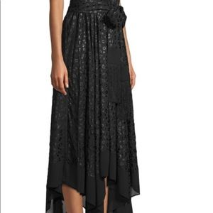 MICHAEL KORS Leopard Handkerchief Dress XXL